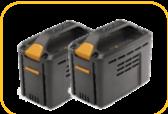 Stiga akkumulátor SBT 540 AE (4.0 Ah) 2 db