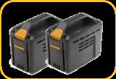 Stiga akkumulátor SBT 550 AE (5.0 Ah) 2 db