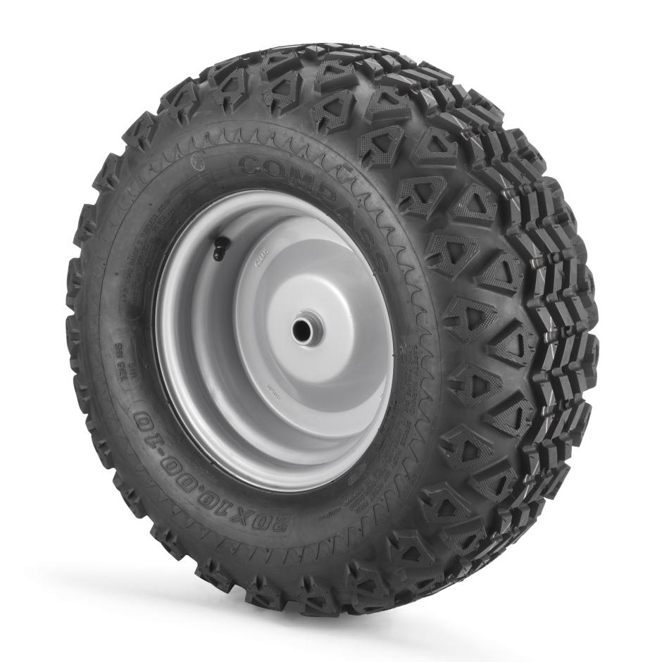 """Stiga 20 """"hátsó téli gumiabroncs-készlet kerti traktorokhoz párban"""